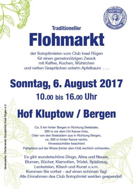 Ausflug, Krammarkt, Flohmarkt Soroptimist Insel Rügen, ars publica Marketing, apmarketing