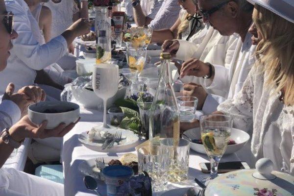 Weißes Dinner im Putbuser Park, 2108
