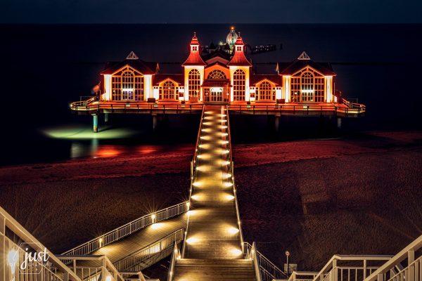 Seebrücke Sellin #orangetheworld - Club Soroptimist Insel Rügen / Foto Juliane Stange